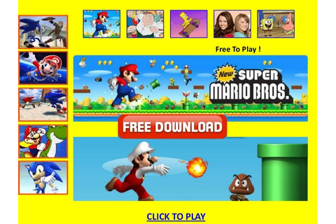 Free mario games no download