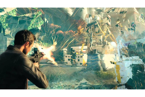 Quantum Break Gameplay Trailer - New Quantum Break Trailer ...