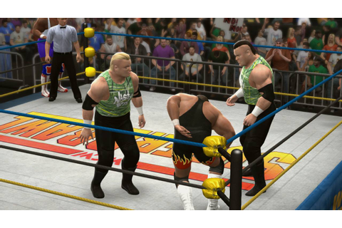 Wrestling Legends game: Tag-Team