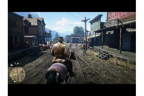 Red Dead Redemption 2 - Free Roam Gameplay LIVE! RDR 2 PS4 ...