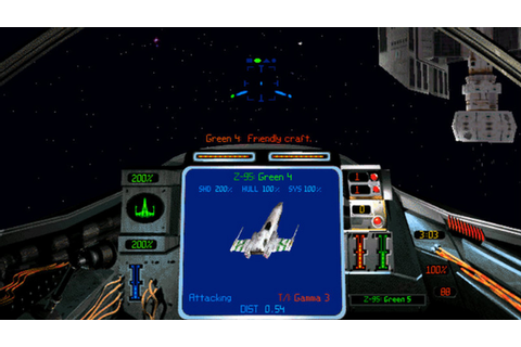 Star Wars: X-Wing Alliance and X-Wing vs. TIE Fighter ...