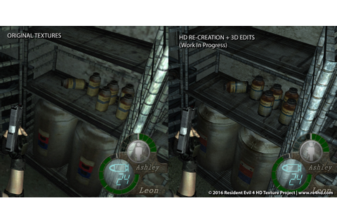 Resident Evil 4 HD Project Gets New Screens And Video ...