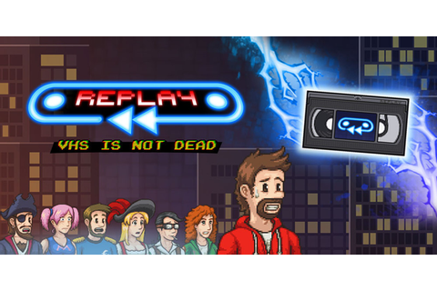 REPLAY: VHS is not dead | Wii U download software | Games ...
