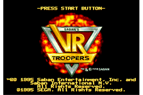 Play VR Troopers Sega Genesis online | Play retro games ...