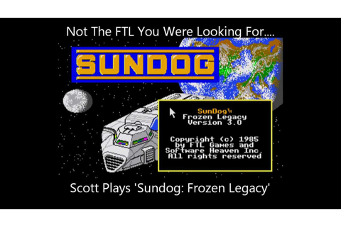 Sundog: Frozen Legacy - Scott Plays An Ancient Spaceship ...