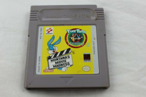 Tiny Toon Adventures 2 Montana's Movie Madness Nintendo ...