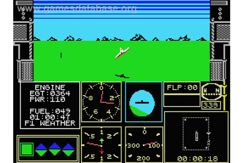 Acrojet - MSX 2 - Games Database