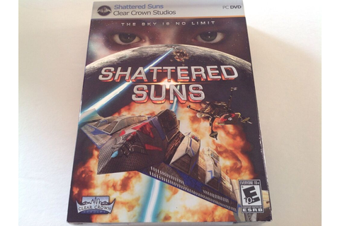 Shattered Suns the Sky Is No Limit PC Computer Game NEW ...