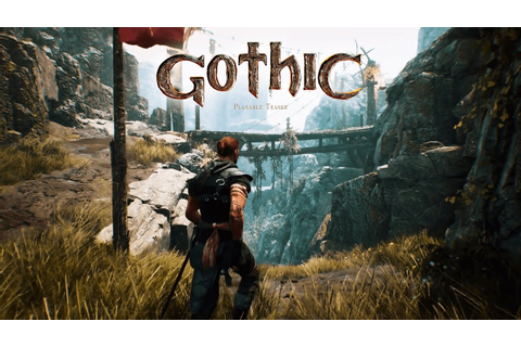 Gothic Playable Teaser vs. Gothic - Comparison Video - YouTube