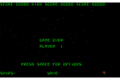 Download Galaxian shooter for DOS (1983) - Abandonware DOS