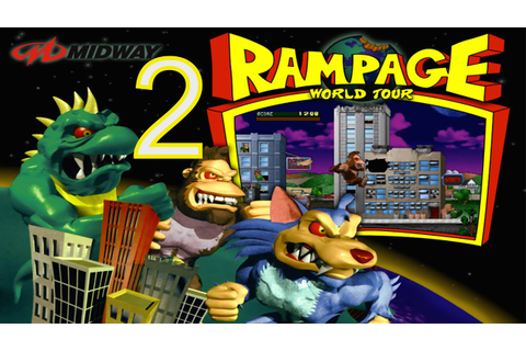 Rampage World Tour - Part 2 - Classic PS1 Arcade Video ...