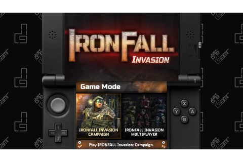 IronFall Invasion - 40 Minute Playthrough [3DS] - YouTube