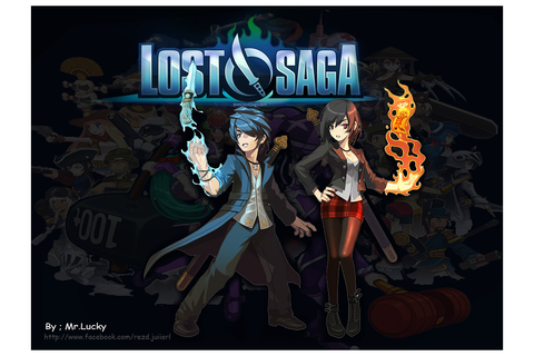 "Fast Download Lost Saga Korean ""game no 1"""