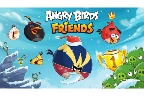Angry Birds Friends music - Hogiday (Christmas 2016 Theme ...