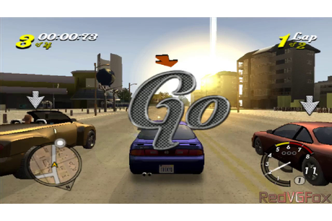 L.A. Rush - Racing game for PS2 - YouTube