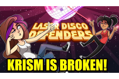 THIS GAME BREAKS KRISM! | Laser Disco Defenders - YouTube