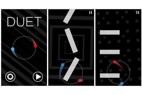 Duet, an addictively challenging Windows Phone game, is ...