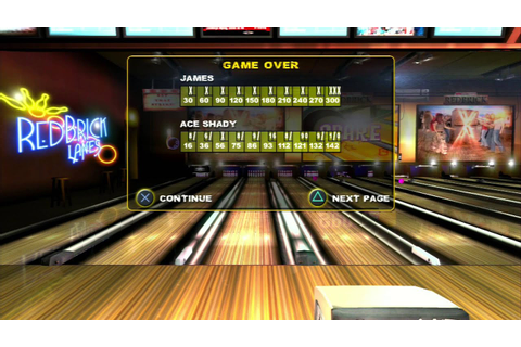 Brunswick Pro Bowling-Ps3 Game Play-Tournament - YouTube