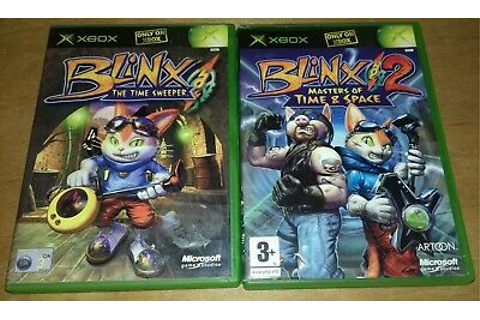 BLINX THE TIME Sweeper & Blinx 2 Masters of Time and Space ...