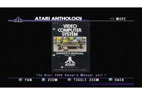 Atari Anthology Games - YouTube
