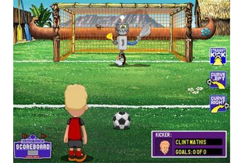 Full Backyard Soccer 2004 version for Windows.