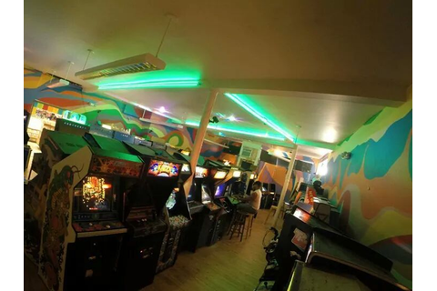 Robot City Games Arcade | Arcade Aesthetic | Pinterest