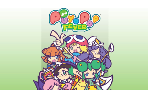 CGR Undertow - PUYO POP FEVER review for Nintendo DS - YouTube