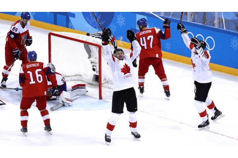 Canadians overpower Czech Republic to claim men's ice ...
