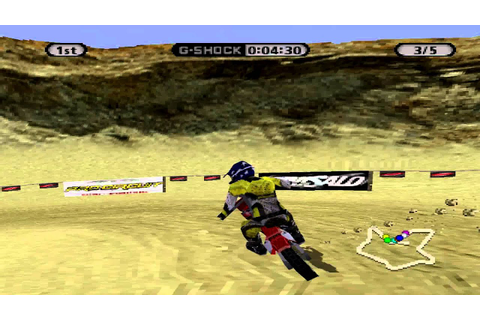 SuperCross Circuit Gameplay Single Race (Playstation ...