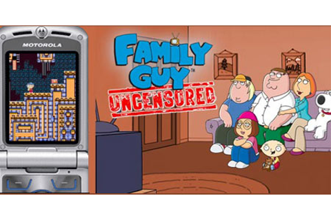 Glu initiates Family Guy: Uncensored for mobile phones ...