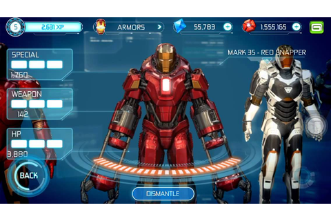 Ironman 3 the official game all suits - YouTube