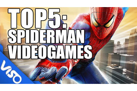 Top 5: Spiderman Video Games - YouTube