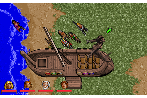 Ultima VII Part Two: Serpent Isle [1993 Video Game ...