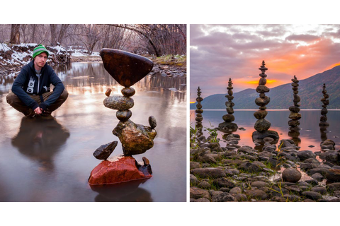 Gravity-Defying Stone Balancing Art By Michael Grab