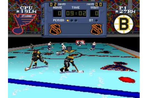 Super Hockey SNES - YouTube
