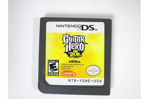 Guitar Hero On Tour game for Nintendo DS (Loose) | The ...