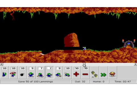 Lemmings™ The Game, Free Arcade Games Online: Tricky - YouTube