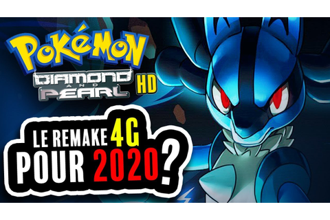 Pokemon Diamant & Perle : Le remake 4G pour 2020 ?! - YouTube