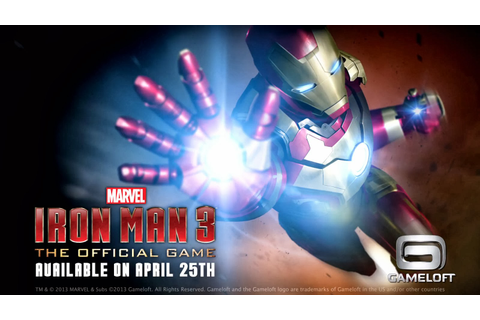 Iron Man 3 – The Official Game v1.0.1 Apk Modded Offline ...