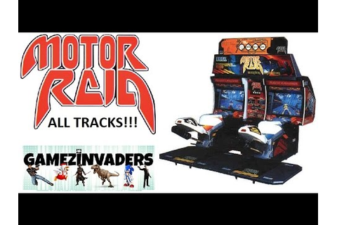 Sega's MOTOR RAID ARCADE! Futuristic (at the time) Combat ...