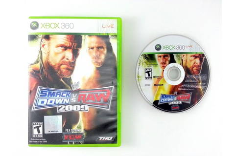 WWE SmackDown vs. Raw 2009 game for Xbox 360 | The Game Guy