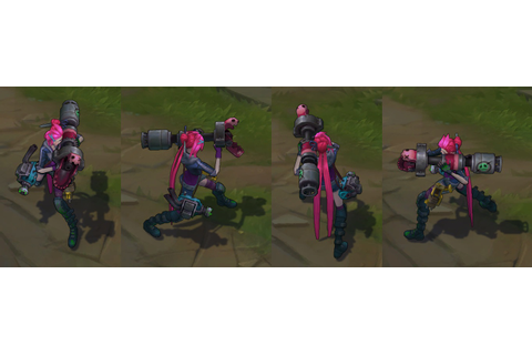 Slayer Jinx - Skin Spotlight - For sale in the ingame shop!