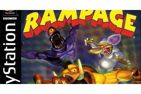 Download Game PS1 : Rampage - Through Time - -:Free Share