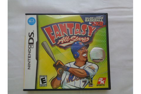 Major League Baseball 2K8 Fantasy All-Stars (Nintendo DS ...