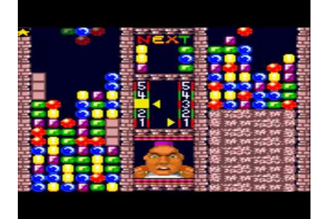 Super Columns Game Sample - Game Gear - YouTube