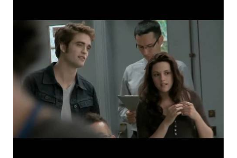 'The Twilight Saga: Eclipse' Behind the Scenes - Stills ...