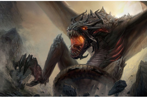 Dragons Monsters Fantasy monster dragon creature wallpaper ...