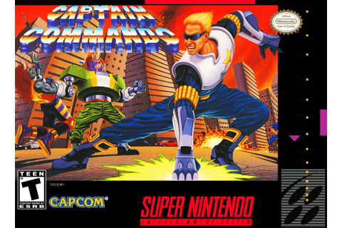 Captain Commando (Game) - Giant Bomb | Gaming - Super ...