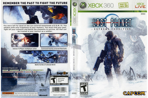 Games Covers: Lost Planet Extreme Condition - Xbox 360