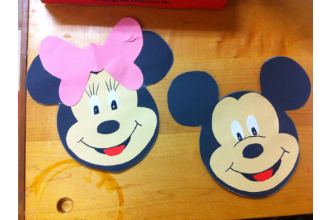 Letter m craft. Minnie Mickey Mouse... Let kids it out ...